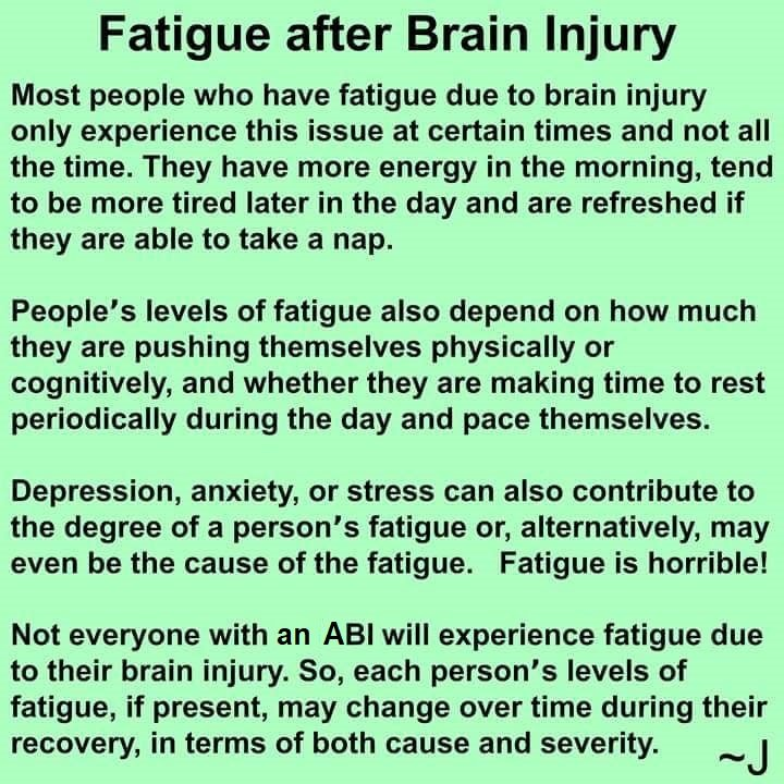 fatigue after brain injury - THE HERD December 2019~ 1st edition