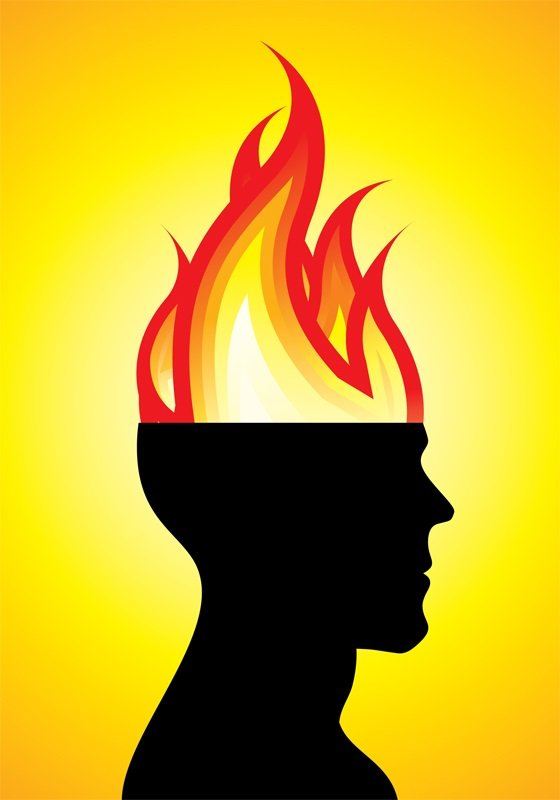 When Your Brain is on Fire