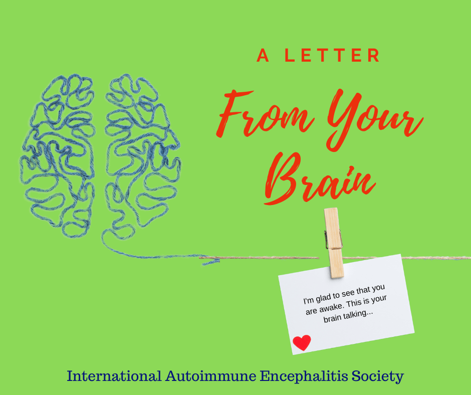 A letter from your brain FB post - THE HERD March 2020~ 1st edition