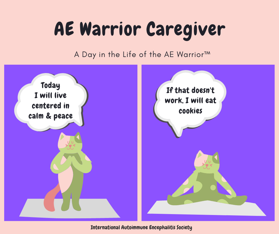 AE Warrior Caregiver comic Strip 7 19 29 FB - Memes About Autoimmune-Encephalitis