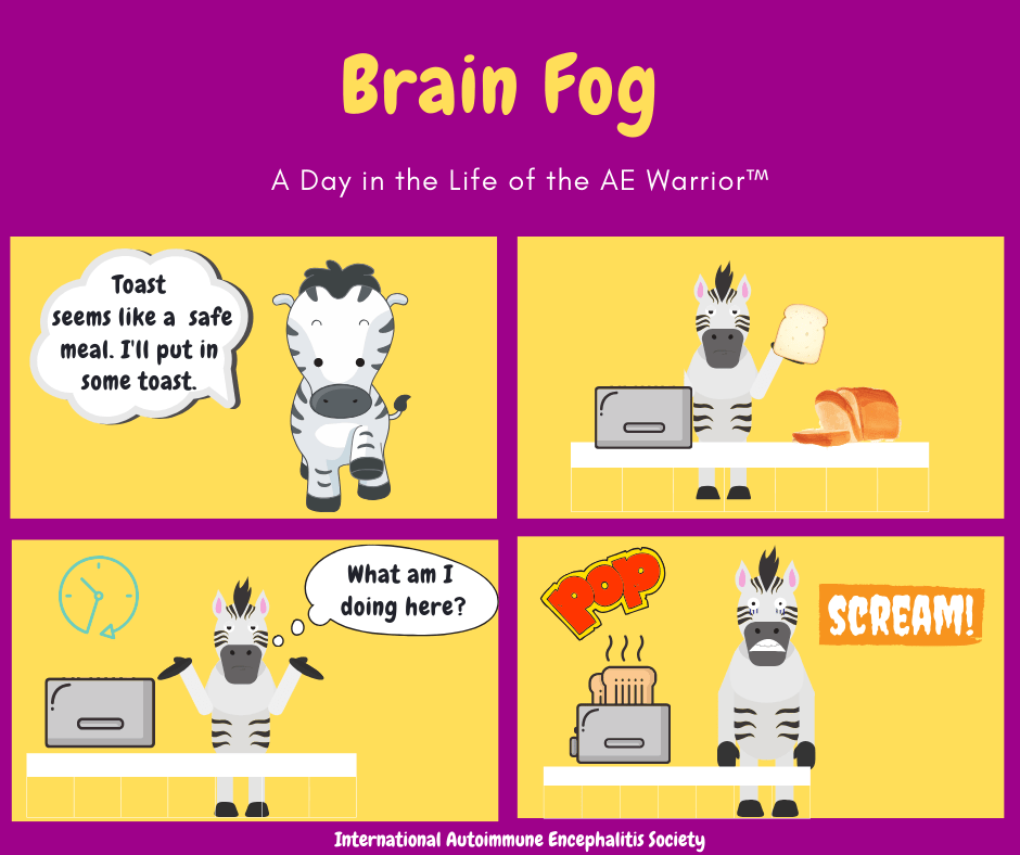 Brain Fog Toast Strip 7 12 20 FB - Memes About Autoimmune-Encephalitis