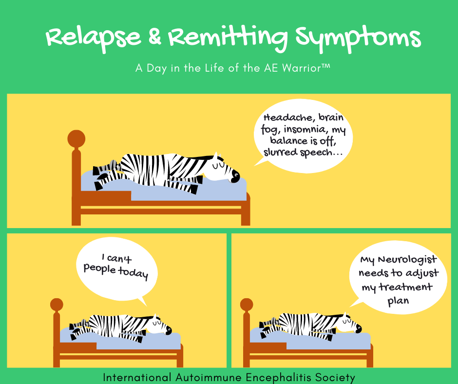 relapse remitting symptoms 8 9 20 FB - Memes About Autoimmune-Encephalitis