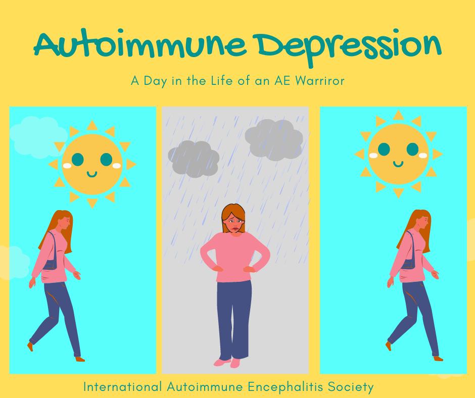 Autoimmune Depression comic 10 25 2020 FB - Memes About Autoimmune-Encephalitis