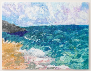 A New Day Seascape puzzle 110 pcs - THE HERD January 2021~ 2nd edition