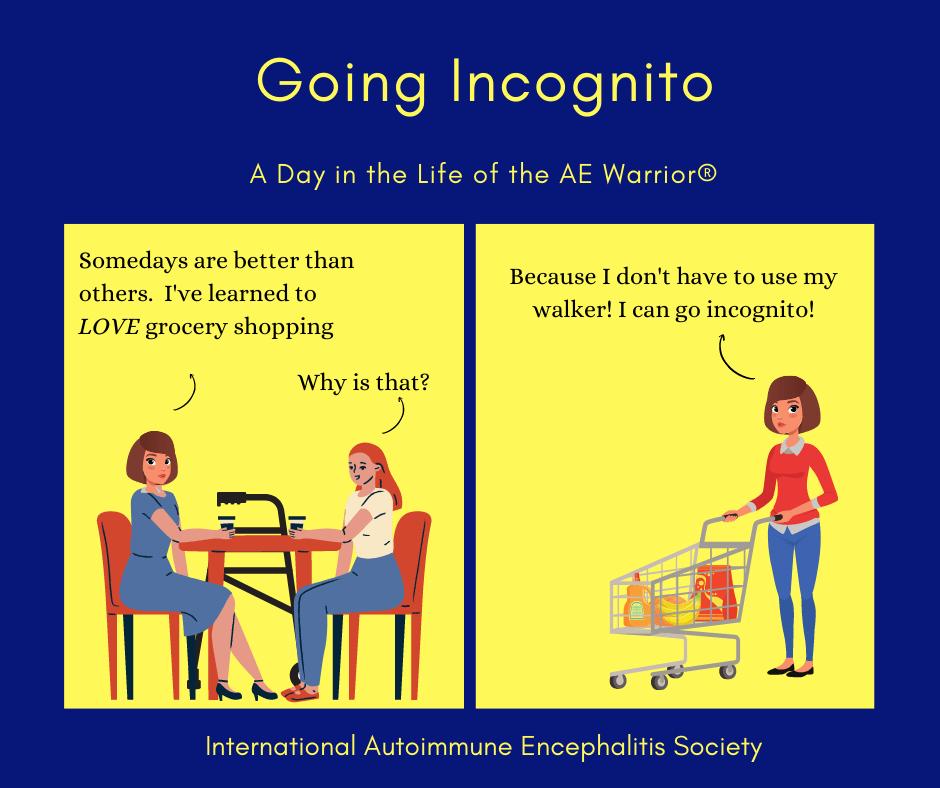 Going Incognito 3 21 2021 FB - Memes About Autoimmune-Encephalitis