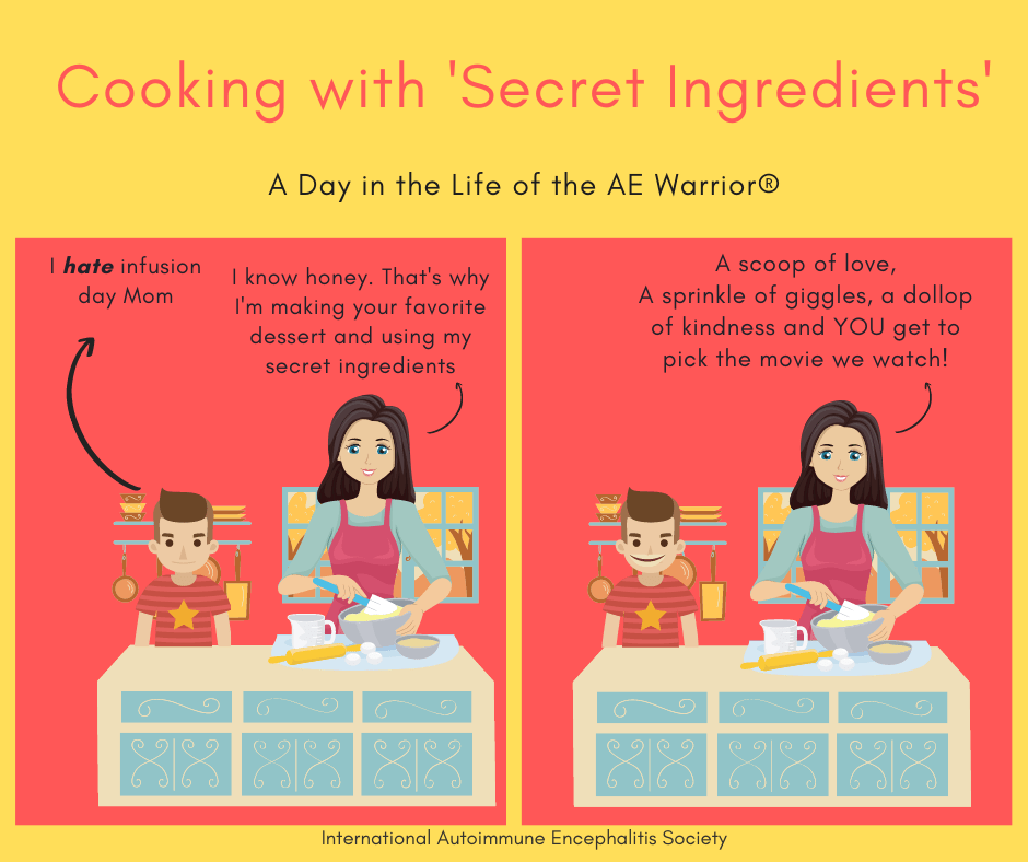 cooking with special ingredients Comic Strip 3 7 2021 FB - Memes About Autoimmune-Encephalitis