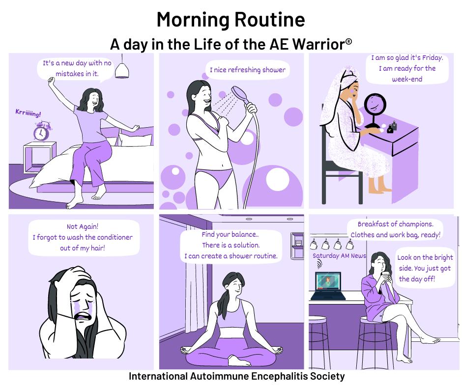 Morning routine 9 12 21 Comic Strip - Memes About Autoimmune-Encephalitis
