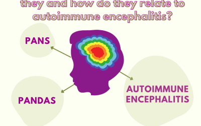 PANS and PANDAS: What are they and how do they relate to autoimmune encephalitis?