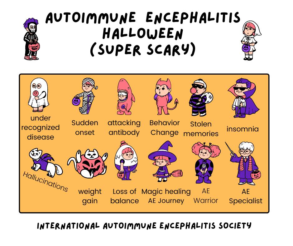 AE Halloween FB 2 - Memes About Autoimmune-Encephalitis