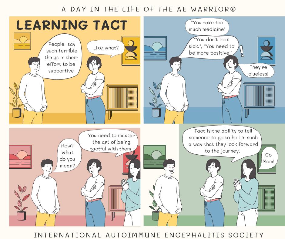 Learning Tact Comic Strip 10 3 FB - Memes About Autoimmune-Encephalitis