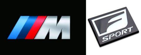 BMWのMスポーツとレクサスのFsport