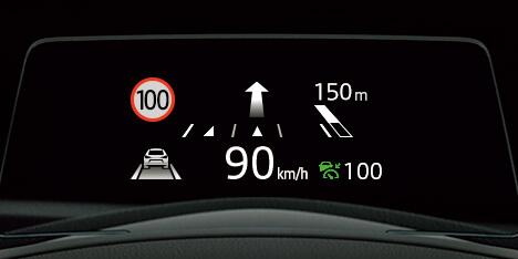 交通標識認識システム(TSR)