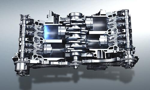 フォレスターの2.5L 直噴エンジン