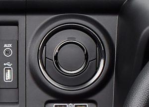エアコンアウトレットリング(運転席)(ピアノブラック調)