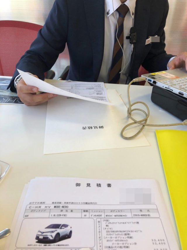 トヨタC-HR値引き商談のまとめ