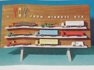 A Toy From Winross USA