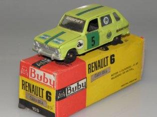 "Renault R6 rallye ! (avec rare boîte ""carrera"")"