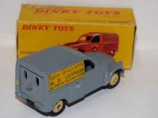 Dinky Toys 2 CV B B Lorrain
