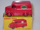Dinky Toys English panel van PKZ