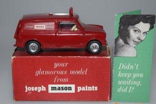 Dinky Toys joseph mason paints