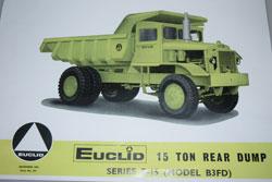 Dinky Toys Euclid la brochure