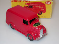 Dinky Toys English panel van