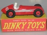 Dinky Toys Alfa Romeo 158 jantes en plastique