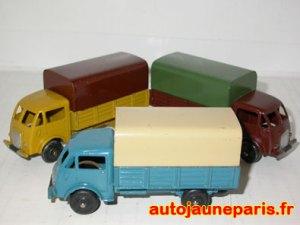 Ford bâchés 25 J roues zamac