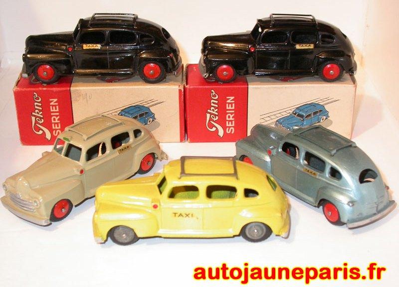 ensemble de variantes pour la Ford taxi Tekno