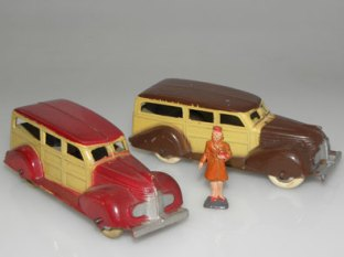 Tootsietoys Ford woody