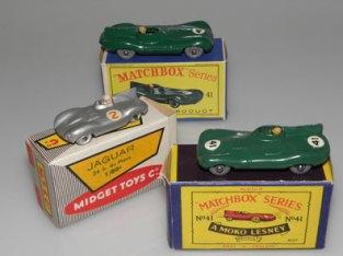 Matchbox : 2 dimensions différentes et Midget Toys