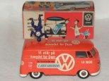 Tekno VW fourgon avec figurine