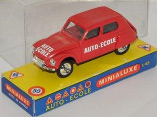 Minialuxe auto-école
