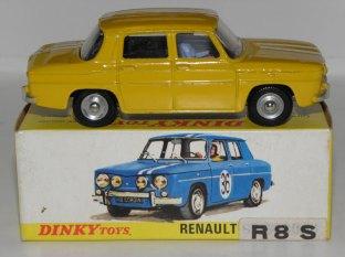 Dinky Toys Renault 8S jaune