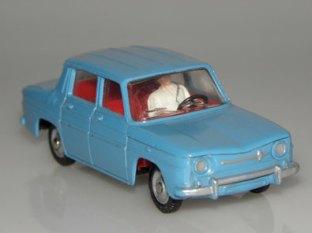 Renault 8 avec personnage et ceinture de sécurité !