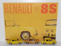 catalogue de la R8S et miniatures