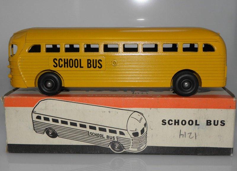 Realistic Toy School Bus