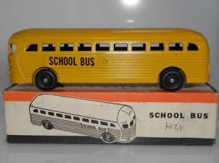 Realistic Toy School Bus