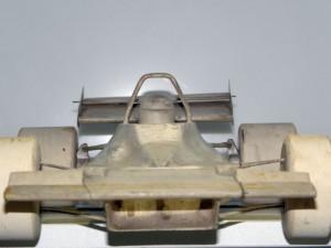 maquette de soufflerie de la Tyrrell OO1