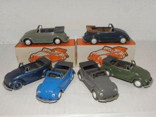 palette de couleur Wiking Volkswagen 1200 cabriolet