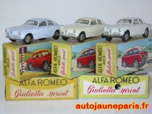 Alfa Romeo Giuletta Sprint de Mercury