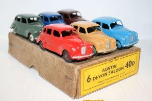 boîte de six Austin Devon Dinky Toys