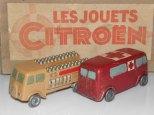Jouets Citroën TUB ambulance et laitier