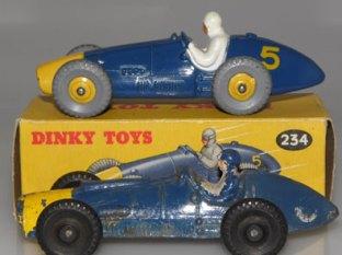 Charbens et Dinky Toys: Ferrari 500F2
