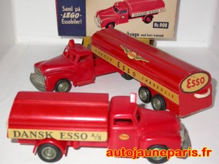 Lego camion citerne Esso