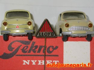 Lloyd Tekno, les deux calandres