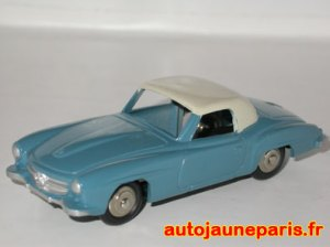 Essai de couleur sur le 190SL Dinky Toys