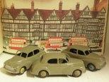 nuances de beige sur les Morris Oxford Dinky Toys