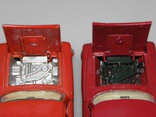 les deux blocs moteurs
