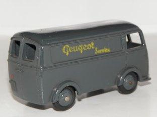 Dinky Toys Peugeot D3A Peugeot Services